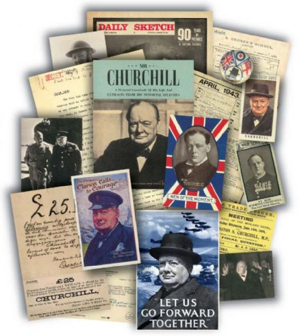 Churchill Memorabilia Gift Pack